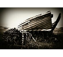 The Old Fishing Boat - Holy Island of Lindisfarne Photographic Print