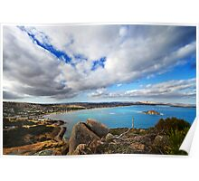 Encounter Bay from the Bluff Poster