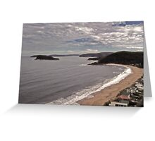 pearl  beach nsw.australia Greeting Card