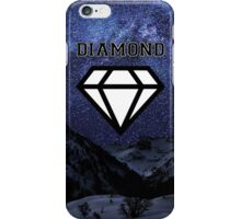 Diamond poster Snow and Stars  iPhone Case/Skin