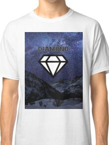 Diamond poster Snow and Stars  Classic T-Shirt