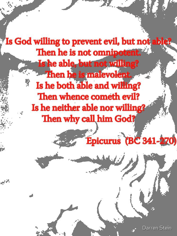 Epicurus on Atheism by Darren Stein