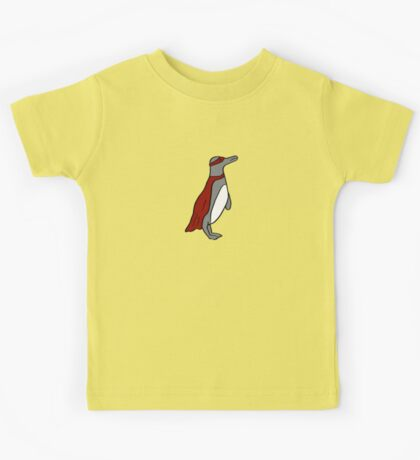 Penguin superhero Kids Tee