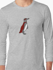Penguin superhero Long Sleeve T-Shirt