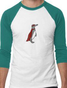Penguin superhero Men's Baseball ¾ T-Shirt