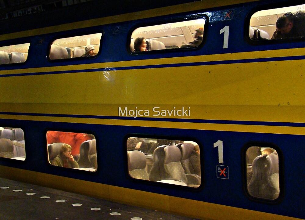 Ride Into The Future by Mojca Savicki