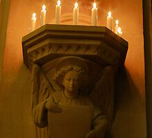 Corbels and Candles by Dave Godden
