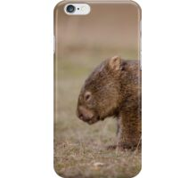 Wombat Caught Napping! iPhone Case/Skin