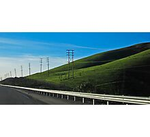 ten pole hill Photographic Print