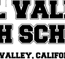 Hill Valley High School Sticker