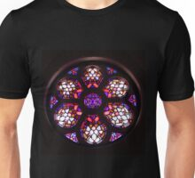 Iglesia del Valle Rosary Window Unisex T-Shirt