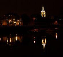 Rochester by Night by Dave Godden