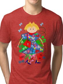 Spring doll Tri-blend T-Shirt