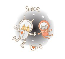 Space love. by Voron4ihina