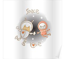 Space love. Poster