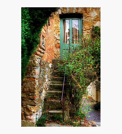 The Studio Steps at Montsalvat Photographic Print