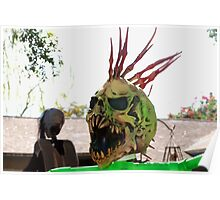 Centipede man Poster
