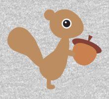 Squirrel One Piece - Short Sleeve
