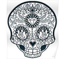 Calavera Skull XXXXIII Poster