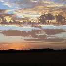 Sunset skies by saltbushbill