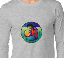 drumtime... by carol weaver... Long Sleeve T-Shirt