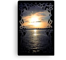 Sunset through the Looking-Glass Canvas Print