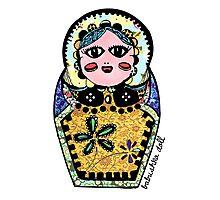 Babushka Doll  Photographic Print