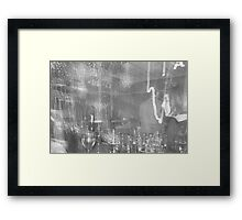 Trippy New Years Eve Framed Print