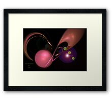 The Roundabout Framed Print