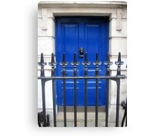 Doors of Europe-London Canvas Print
