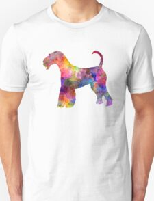 Airedale Terrier 01 in watercolor T-Shirt