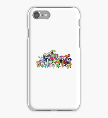 Rugrats Characters  iPhone Case/Skin