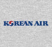 Korean Air One Piece - Short Sleeve