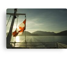 British Columbia Ferry Canvas Print