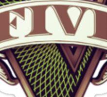 Grand Theft Auto V Logo Sticker