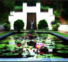 Waterlily Pond by Mattie Bryant