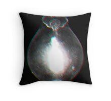 Cellophane Bulb Throw Pillow