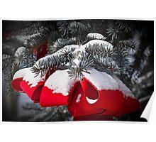 Christmas Bow Poster
