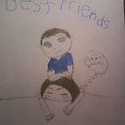 Best Friends by MyArtMyHeart