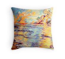 Being There Throw Pillow
