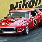 Allan Moffat - Trans Am Mustang by TGrowden