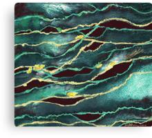 """Flood Waters""  Canvas Print"