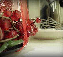 Kitchen at Christmas by takemeawaycn