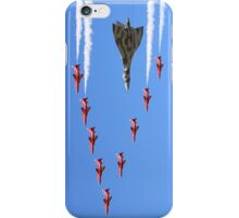 Final Vulcan flight with the Red Arrows 8 iPhone Case/Skin