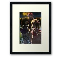 Illya, Kuro and Miyu from Fate/Kaleid Liner Prisma Illya Framed Print