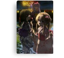 Illya, Kuro and Miyu from Fate/Kaleid Liner Prisma Illya Canvas Print