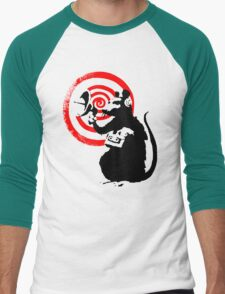 Banksy - Radar Rat Men's Baseball ¾ T-Shirt
