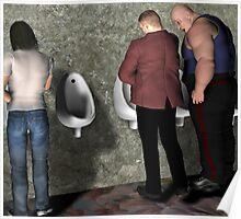 Urinal Etiquette Poster