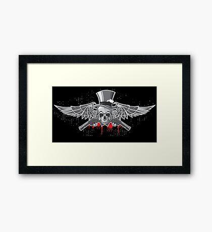 Angels with Guns Framed Print
