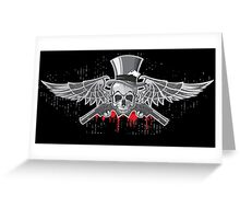 Angels with Guns Greeting Card